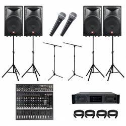 InfoMusic Ses Paketleri - Düğün Salonu sistemi