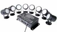 Eclips - Eclips LED Par Set 8 Mini Par çok renkli strobe