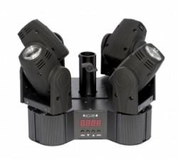 Eclips - Eclips Quattro Beam RGBW 4x10w Led Robot Işık Sese Duyarlı otomatik