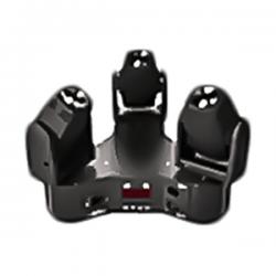 Eclips - Eclips Trio Beam W 3x10w Led Robot Işık Sese Duyarlı otomatik