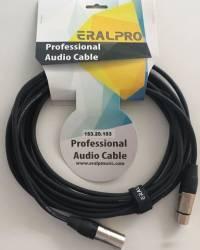 EralPro - Eralp Pro Cable 6 Metre XLR to XLR Mikrofon Kablosu