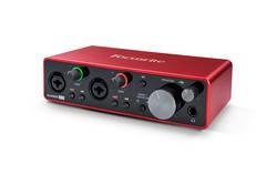 Focusrite Scarlett 2i2 Gen3 USB Ses Kartı - Thumbnail