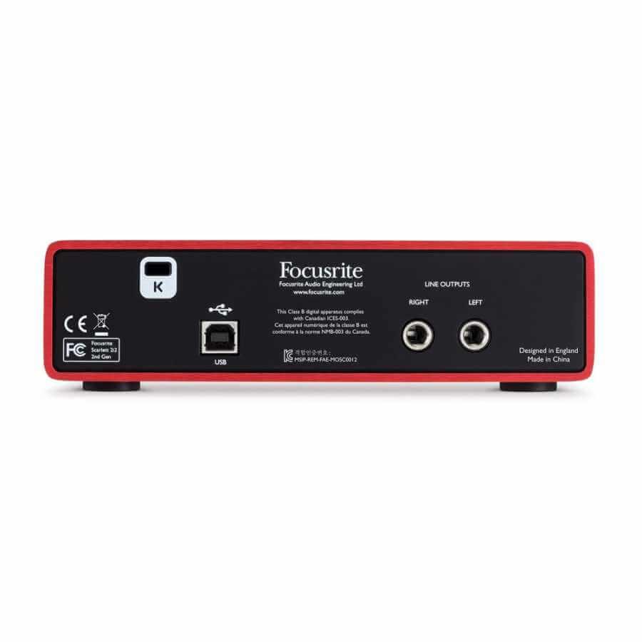 Focusrite Scarlett 2i2 MK2 2 giriş, 2 çıkış USB 2.0 Ses kartı