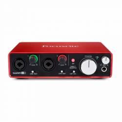 Focusrite - Focusrite Scarlett 2i2 MK2 2 giriş, 2 çıkış USB 2.0 Ses kartı