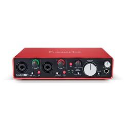 Focusrite - Focusrite Scarlett 2i4 MK2 -2 Giriş 2 Çıkış USB 2.0 Ses Kartı