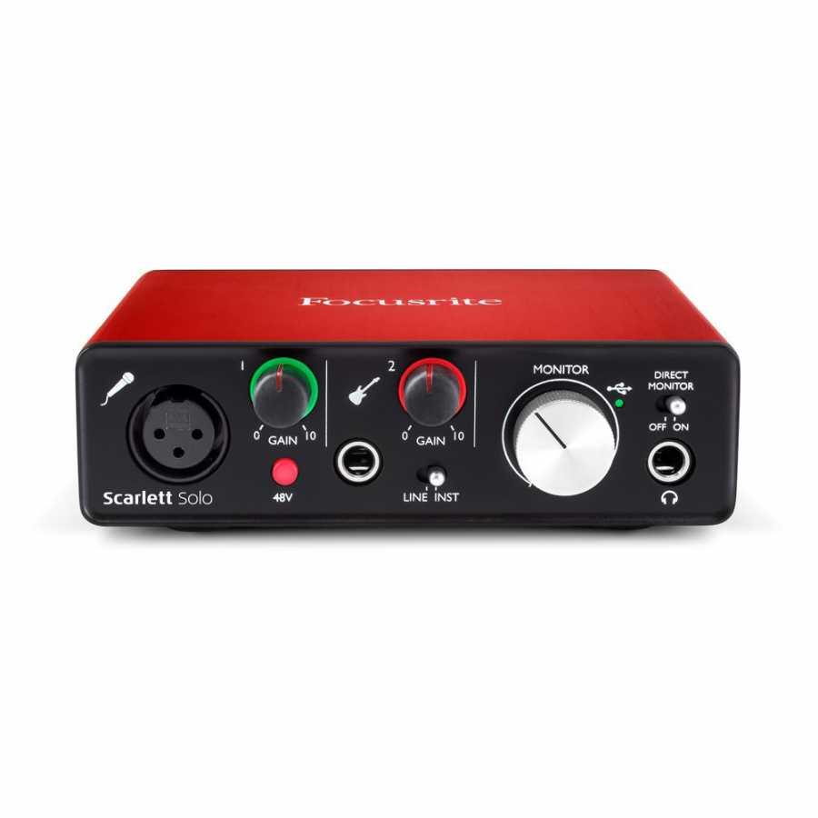 Focusrite Scarlett Solo MK2 USB 2.0 Ses Kartı