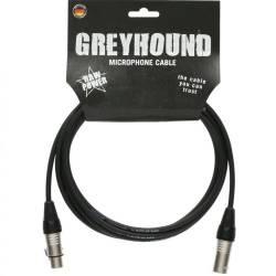 GreyHound - GreyHound GRG1FM5.0 - 5 Metre Klotz XLR - XLR Mikrofon Kablosu