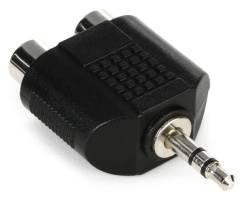 Hosa - Hosa Daul Rca To 3.5mm Trs Adaptör