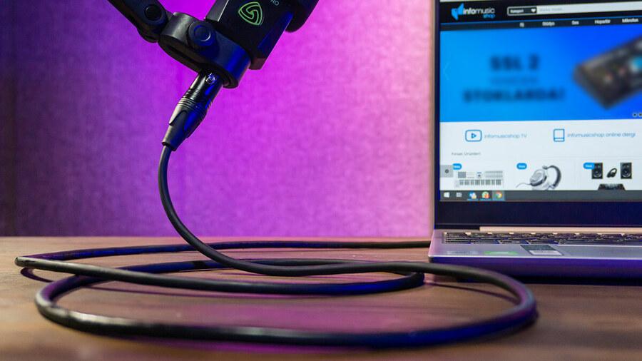 InCable XLR-XLR Mikrofon Kablosu (Sinyal)