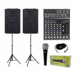 InfoMusic Ses Paketleri - Info Music Aktif Ses Sistemi Hoparlörü Paketi