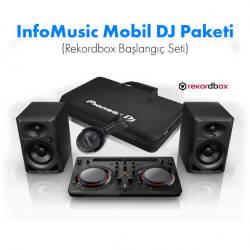InfoMusic Paket Sistemler - InfoMusic Mobil DJ Paketi (Rekordbox Başlangıç Seti)