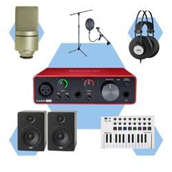 InfoMusic Stüdyo Paketleri - İnfoMusicShop Premium Ev Stüdyosu Paketi (Record & Beat Making)