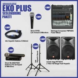 InfoMusic Paket Sistemler - infomusicshop - Eko Plus Ses Sistemi Paketi