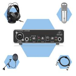 InfoMusic Stüdyo Paketleri - İnfoMusicShop Mini Ev Stüdyosu Paketi (Rap, RnB, Trap ve Soulful Kayıt Paketi)