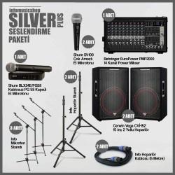 InfoMusic Paket Sistemler - infomusicshop - Silver Plus Ses Sistemi Paketi
