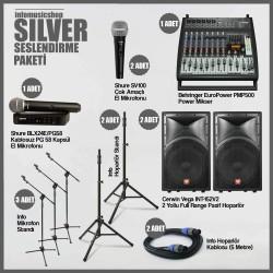 InfoMusic Paket Sistemler - infomusicshop - Silver Ses Sistemi Paketi