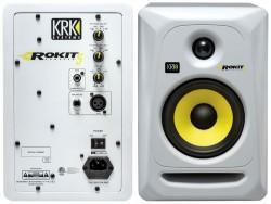 KRK - KRK Rokit 5 G3 - W Aktif Referans Beyaz Hoparlör (Tek)