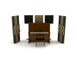 Lava Akustik - Lava Akustik Piyano Akustik Panel Pro 9'lu Paket