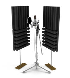 Lava Akustik - Lava Akustik Vokal Kayıt Akustik Panel Premium 4'lü Paket
