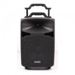 Lentus - Lentus LNT-P-100 Çift El Mikrofonlu Taşınabilir Hoparlör