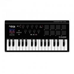 M-Audio - M-Audio Axiom AIR Mini 32, 32 tuş MIDI controller pad klavye