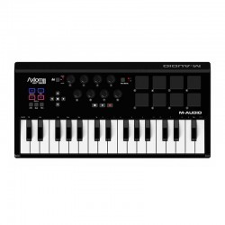 M-Audio - M-Audio Axiom AIR Mini 32, 32 tuş MIDI controller pad klavye