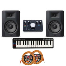 M-Audio - M-Audio Basic Paket Eco (En uygun Başlangıç Paketi)