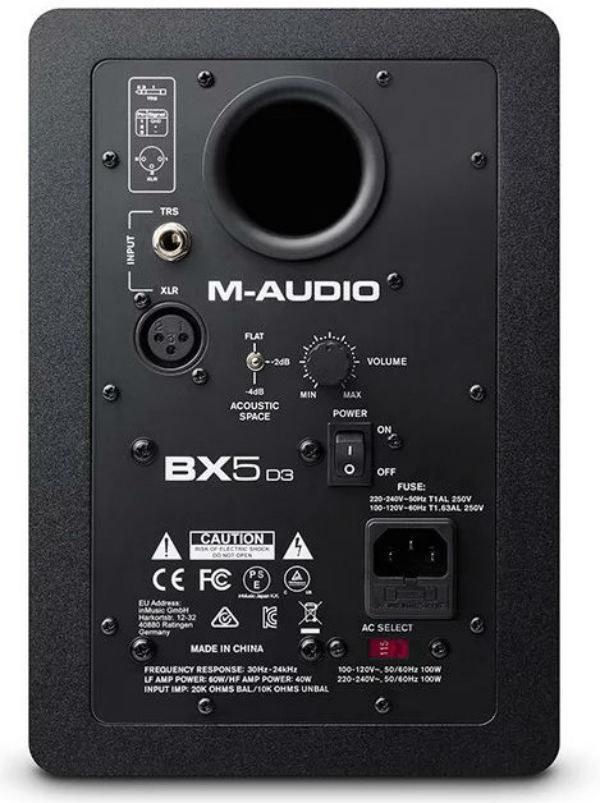 M-Audio BX5 D3 Aktif Stüdyo Monitörü (Çift)