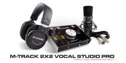M-Audio - M-AUDIO M-Track 2x2 Vocal Studio Pro Pack