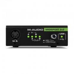 M-Audio - M-Audio Midisport 2x2 - USB MIDI Arabirim