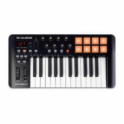 M-Audio - M-Audio Oxygen 25,25 tuş USB MIDI Controller Klavye V4