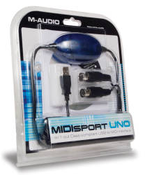 M-Audio - M-Audio USB Uno - USB in/out MIDI Arabirim