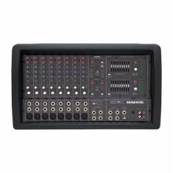 Mackie - Mackie 808 S 8 Kanal 2 x 600 Watt Amfili Küp Mikser