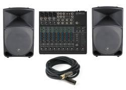 InfoMusic Ses Paketleri - Mackie Canlı Müzik Ses Sistemi