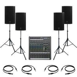 InfoMusic Ses Paketleri - Mackie Thump12A Büyük Canlı Performans Ve Düğün Paketi