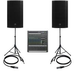 InfoMusic Ses Paketleri - Mackie Thump12A Canlı Performans Ve Düğün Paketi