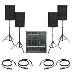 InfoMusic Ses Paketleri - Mackie Thump15A Büyük Canlı Performans Ve Düğün Paketi
