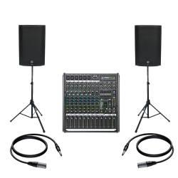 InfoMusic Ses Paketleri - Mackie Thump15A Canlı Performans Ve Düğün Paketi