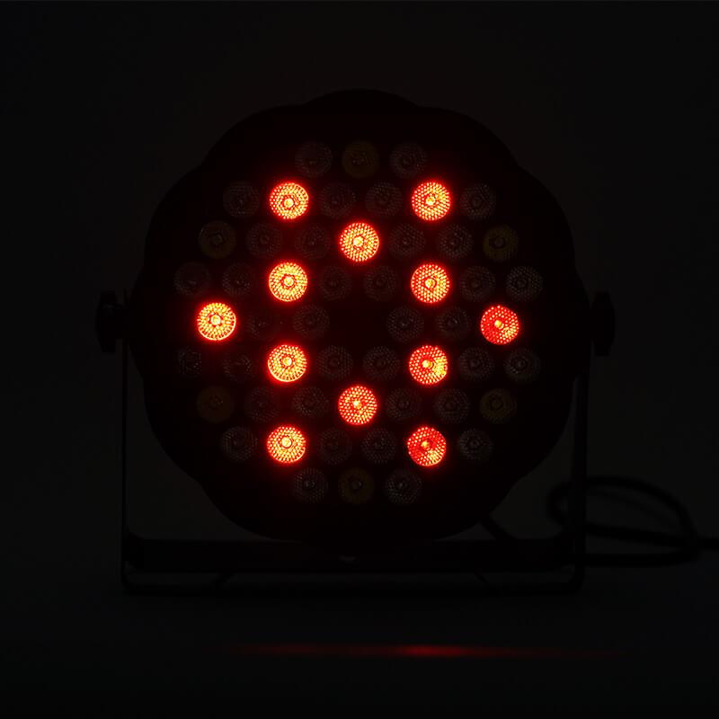 Metrolight 54 Led Flat Par Işık (Sese Duyarlı)