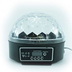 Metrolight - ( Disko Topu ) Metrolight Led Magic Ball Light (Sese Duyarlı)