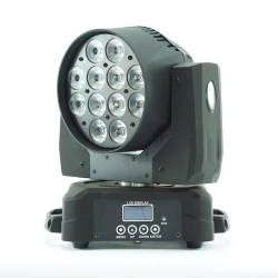 Metrolight - Metrolight Led Wash Moving Head 12 x 10 Watt Robot (OUTLET)