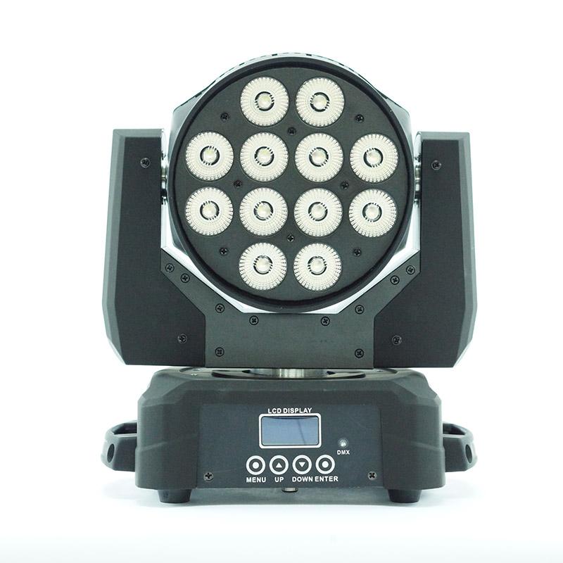 Metrolight Led Wash Moving Head 12 x 10 Watt Robot Işık