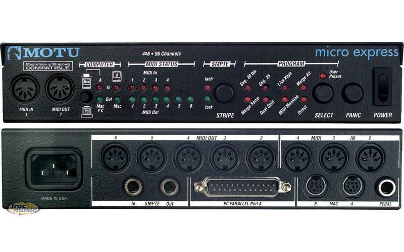 Motu Micro Express Midi İnterface