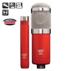 MXL Microphones - MXL 550/551R 550 ve 551 Mikrofonlardan Oluşan Paket