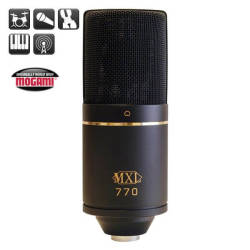 MXL Microphones - MXL 770 Kardioid Pattern Kapasitif Mikrofon
