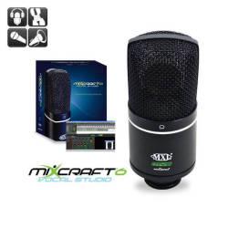MXL Microphones - MXL Acoustica MVS USB Kondenser Stüdyo Vokal Mikrofonu