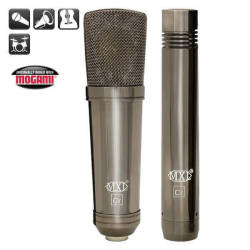 MXL Microphones - MXL Cr-24 Chrome Vokal & Enstruman Mikrofon Seti