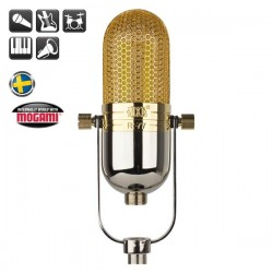 MXL Microphones - MXL R77 L Klasik Ribbon Mikrofon (Limited Edition Lundahl Trafolu Model)