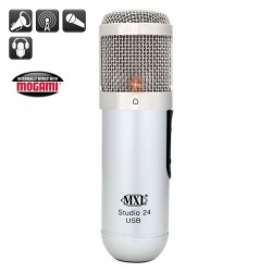 MXL Microphones - MXL Studio 24 USB 24-bit USB Mikrofon