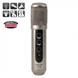 MXL Microphones - MXL USB 009 24bit Usb Kulaklık Çıkışı ve Kazanç Ayarı